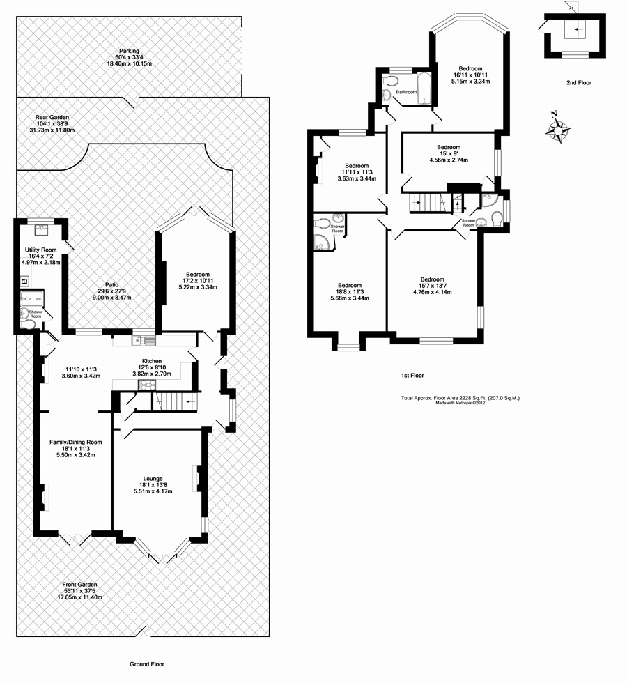Bury Tower House Floor Plan